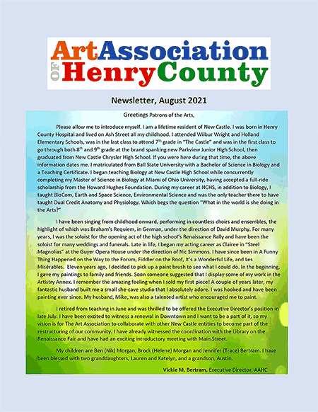 AAHC Newsletter 08-2021