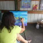 Katherine Shumaker painting.